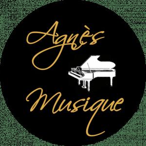 Logo Agnès musique accordeur de pianos à Toulon