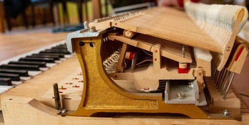 réglage mécanique piano à queue